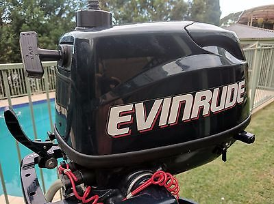 Evinrude 2013 4hp (four stroke) Outboard