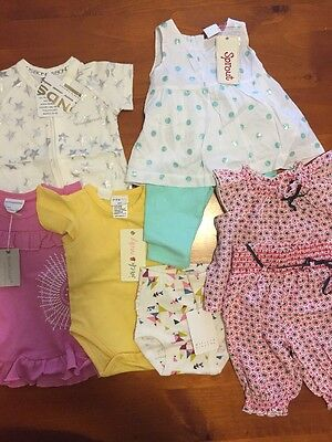 Baby Girl Clothes Bulk, 000, Bonds, Sprout, Marquise, Jack & Milly BNWT