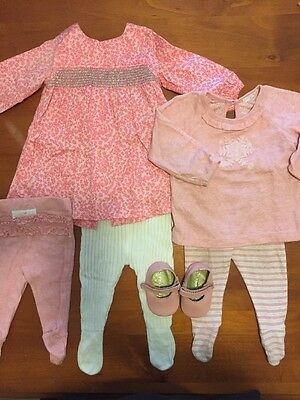 Baby Girl Clothes Pure Baby Size 00 & 000 BNWOT