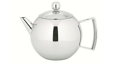 Avanti Mondo Teapot & Infuser, Stainless Steel Finish, Modern & Stylish, 600ml