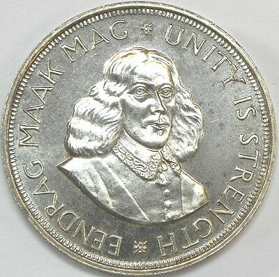 South Africa 1964 50 Cents Proof-Like Km-62 Silver