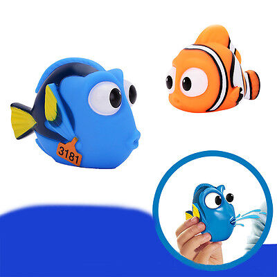 Cute Baby Toy Bath Toys Squirt Kids Float Water Tub Rubber Bathroom Play