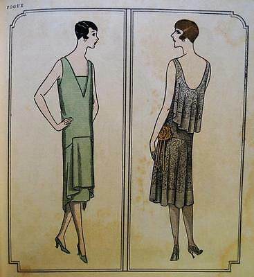 Vogue Magazine 15 December 1925 Christmas Issue Vintage Womans Clothing Fashions