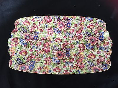 Royal Winton Grimwades 'sunshine' Chintz Shallow Savory Bowl - No Crazing
