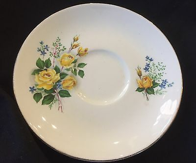 Old Foley James Kent English Bone China Saucer -  In Vg To Ex. Cond