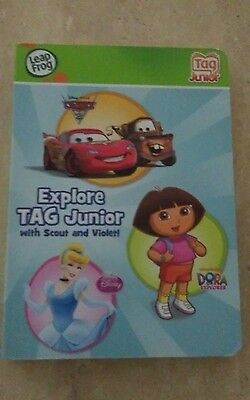 LeapFrog LeapReader Junior Book: Explore Tag Junior with Scout and violet