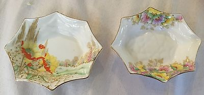 Pin Dishes X 2 Royal Standard English Bone China In As New Condition.