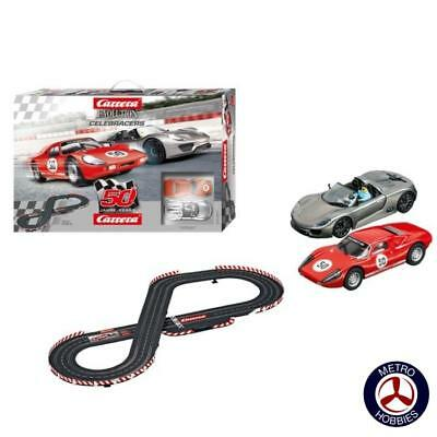 Carrera Evolution 132 Celebracers Slot Car Set* 25197 Brand New