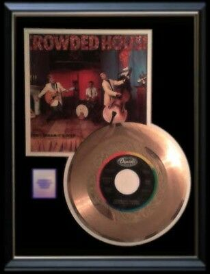 Crowded House Gold Record Disc 45 Rpm Don't Dream Its Over Rare !