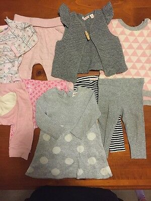 Baby Girls Clothes Bulk Size 3-6months, Country road, Seed, Sapling child