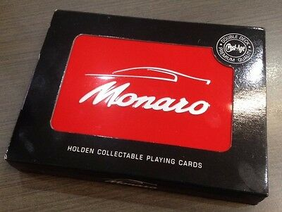 9323 Holden Monaro Red Double Deck Of Playing Cards In Collectable Tin