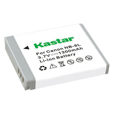 Kastar NB-6L Battery for Canon PowerShot S120, SD770 IS, SD980 IS, SD1200 IS