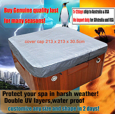 7Fspa cover cap 213 x 213 x 30.5cm for protecting hot tub , spa cover T Shirt