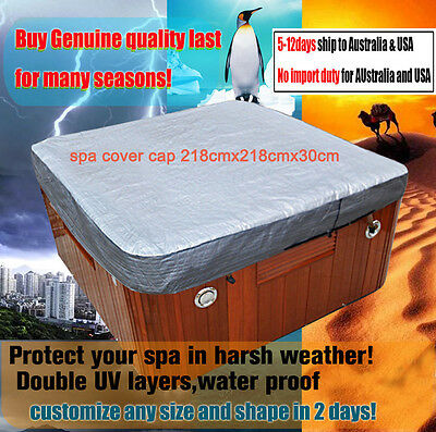 spa cover cap 218cmx218cmx30cm hot tub cover guard
