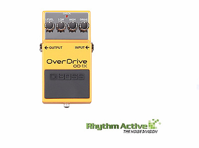 Boss Od-1X Overdrive Multi-Dimensional Processor Guitar Effect/s Pedal Od1X