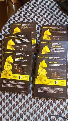 LOT of 6 Instructional Chess DVDs: Romans Lab, Dzindzi Perfecting the Opening