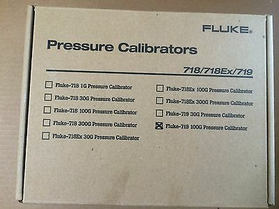 New Fluke 719-100G  Portable Electric Pressure Calibrator