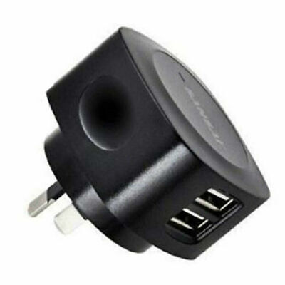 Sansai 2 USB outlet AC charger 5V 2.1A output max/5V output 2.1A Max