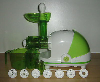 Sunbeam Juice Life Cold Press Juicer (includes pasta making attachments)