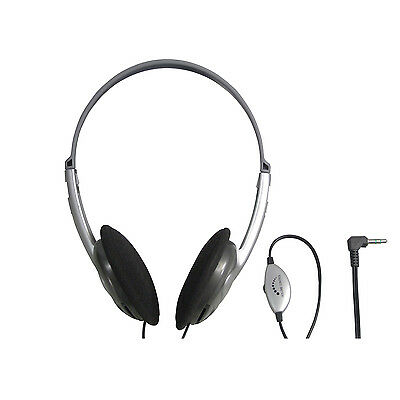 Sound Lab Lightweight Stereo Computer Headphones with Volume Control 1.2m Lead