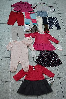 BN Mamas and Papas Girls Large Bundle Clothes Dress Tops Dress Leggings++ 0-3 M