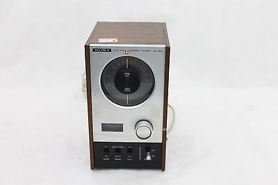 Vintage Sony ST-80F Solid State AM/FM Stereo Tuner
