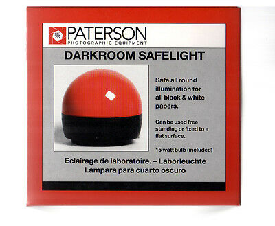Paterson Darkroom Safelight PTP760 for Black & White Papers