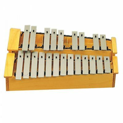 Angel 22 Note C2-A3 Glockenspiel Musical Instrument Wooden Resonator Neu Sealed