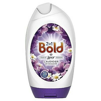 Bold 2in1 Washing Gel Lavender and Camomile Washes 888 ml Pack of 6