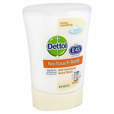 Dettol No-Touch Refill Hand Wash 250 ml - Honey Nourishing Pack of 5