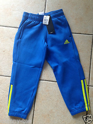 New Boys Adidas Tracksuit Pants Size 4-5 Years Rrp $45
