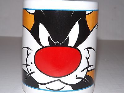2001 LOONEY TUNES SYLVESTER COFFEE MUG  by GIBSON