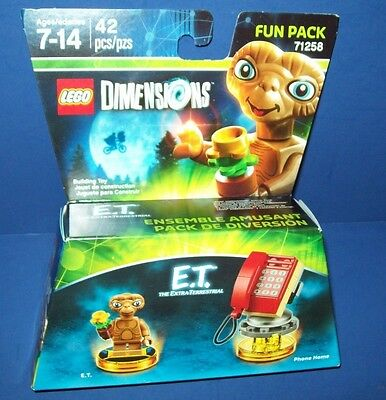 New Lego 71258 Dimensions Fun Pack E.T. ET with PHONE HOME In Hand sealed