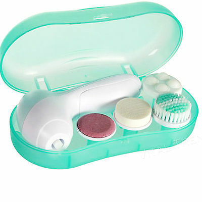 Face Facial Cleansing Brush Spa Skin Care Massage Exfoliator Deep Clean 4 in 1