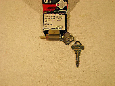 Schlage Everest Primus C123 Cylinder For B, D, And Ad Series Locks, 2 Keys