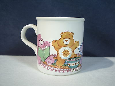 Care Bear Mug Ceramic Share A Cozy Moment American Greetings Vintage Hearts