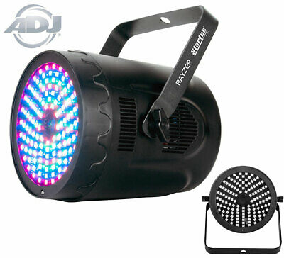 4X QTX PAR180 Powerful LED PAR CAN Uplight Light + Carry Bag +3X 6M XLR
