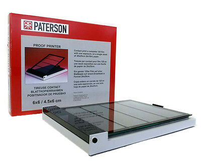 Paterson Pro Proof Printer 6x6 / 4.5x6cm PTP620