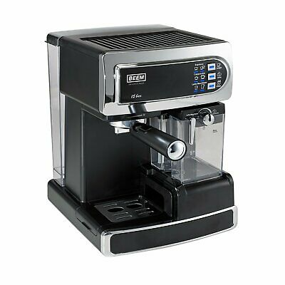 Beem Kaffeemaschine i-Joy 15 bar Chrom/Edehlstahl