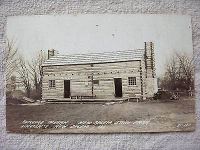 1940 Rutledge Tavern,new Salem St.park,il,rppc Postcard