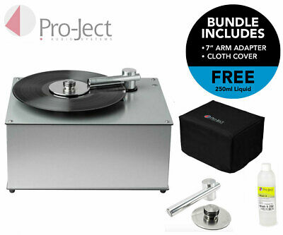 Pro-Ject VC-S Vinyl Cleaner / Record Cleaning Machine - BLACK -Free P&P