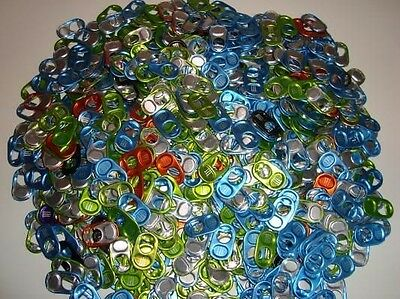 Lot Of 100 Monster Energy Can Tabs For Monster Gear various colors