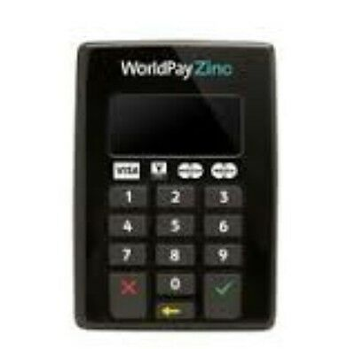 1*b1    WorldPay Zinc Chip & Pin Reader Secure Card Payment Mobile