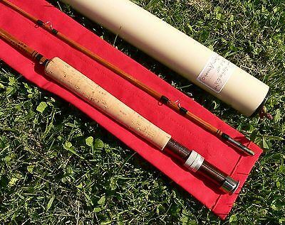 CANNE Pêche MOUCHE bambou refendu  fly rod fishing bamboo cane canna pesca mosca