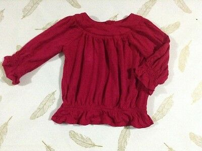 Origami Baby Girls Long Sleeve Top Size 0