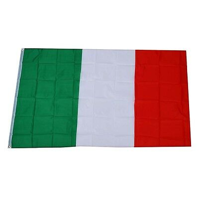 Large 90x150cm 5 X 3FT National Supporters Sports Olympics Italian Flag X5G5