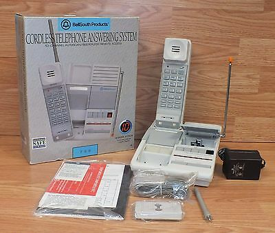 Vintage BellSouth (798) 10 Channel Auto Scan Cordless Telephone Answering System