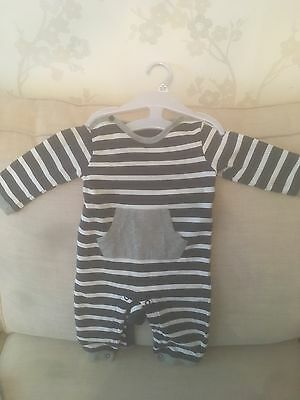 Boys M&S 3-6 months playsuit