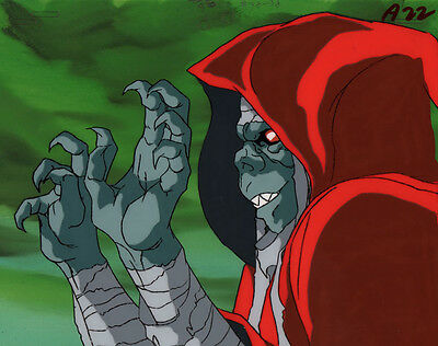 Thundercats Production Anime Cel Mumm-Ra Close-up Rankin-Bass 1985 TV Series