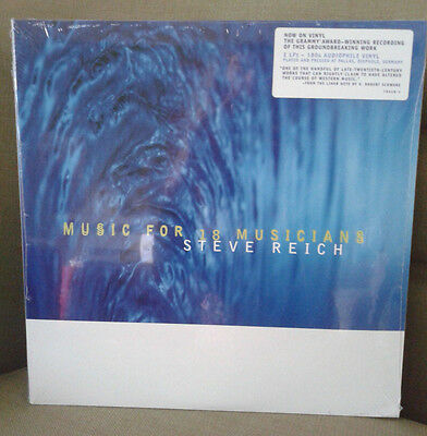 Steve Reich Music for 18 Musicians RSD 2015 2xLP Ltd New Sealed